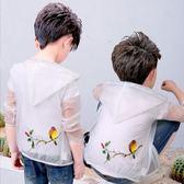 兒童防曬衣超薄透氣小男孩男童外套防曬服【熊貓本】
