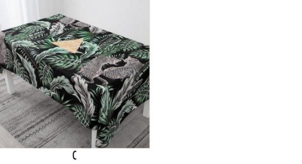 時尚可愛空間餐桌布 茶几布 隔熱墊 鍋墊 杯墊 餐桌巾658 (100*140cm)