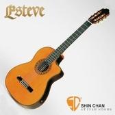 Esteve ELEC 全單板西班牙手工可插電古典吉他 西班牙製 附硬盒 【 松木/印度玫瑰木/ELEC】