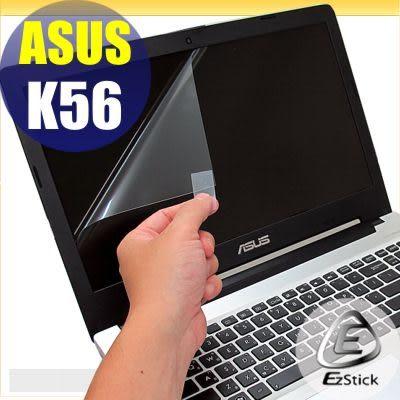 【EZstick】ASUS K56 K56CM 專用 靜電式筆電LCD液晶螢幕貼 (可選鏡面及霧面) 另有客製化服務