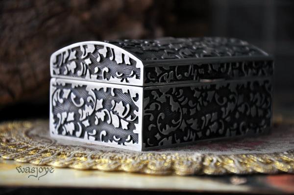 太陽神復古歐式公主首飾盒絨布手飾品收納盒珠寶盒戒指盒禮物
