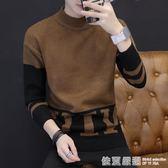男士毛衣新款韓版潮流男裝針織衫秋冬季帥氣個性寬鬆長袖衣服  依夏嚴選