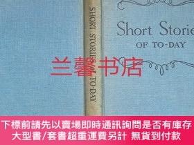 二手書博民逛書店harrap s罕見modern english series:short stories of to-day(精