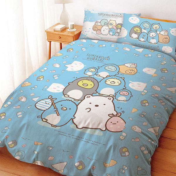 床包 / 單人【角落生物冰原歷險】含一件枕套  高密度磨毛  戀家小舖台灣製ABF101