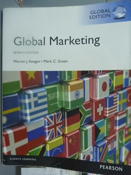 【書寶二手書T4/大學商學_PLY】Global Marketing_Warren J. Keegan_7/e