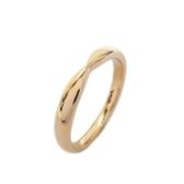 Tiffany & Co 蒂芬妮 黃K金戒指 Tiffany Harmony Wedding Band Ring 50號 BRAND OFF