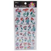 《KAMIO》迪士尼公主多尺寸童話風裝飾貼紙(小美人魚)_KM86185