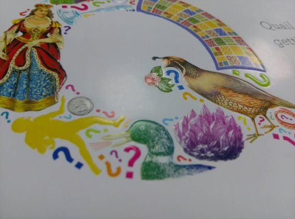 【 創意字母書 】A B SEE /硬頁書《主題:字母.藝術.尋找遊戲》