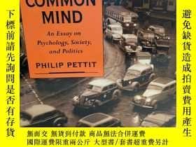 二手書博民逛書店The罕見Common Mind: An Essay on Ps