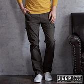 【JEEP】美式經典多口袋工作長褲 (軍綠)