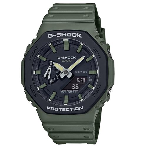 CASIO G-SHOCK 農家八角衝力腕錶/錶殼 /GA-2100SU-3A