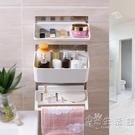 衛生間免打孔浴室置物架廁所洗漱台牆上收納架洗手間吸盤壁掛架子 HM 小時光生活館