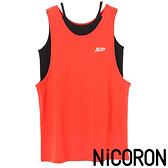 「Hot item」層次標誌運動吊帶背心 - NiCORON