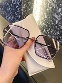 墨鏡 太陽眼鏡女2021年新款防紫外線墨鏡女韓版潮旅游街拍專用大臉顯瘦 風尚