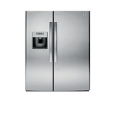 *~新家電錧~*【奇異 GSE25HSSS】733L 對開門冰箱 不鏽鋼灰色 【實體店面】