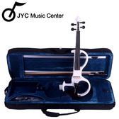JYC Music JYC V8靜音提琴(白色)~四方套裝組