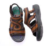 MODO.簡潔自信/舒適內裡-THE ONE-氣墊鞋/涼鞋(全牛皮)-P58309 咖啡