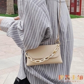 斜背包鏈條包高級感小包包女百搭復古單肩側背包【倪醬小舖】