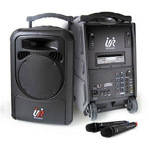 UR SOUND  PA9328N 雙頻DVD移動式無線擴音機