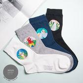 現貨✶正韓直送【K0233】韓國襪子 鸚鵡系列中筒襪 韓妞必備 百搭基本款 素色襪 免運 阿華有事嗎