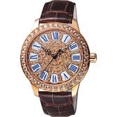 Ogival 愛其華 復刻路易十四巴洛克琺瑯機械腕錶-42mm 1550.21AGR