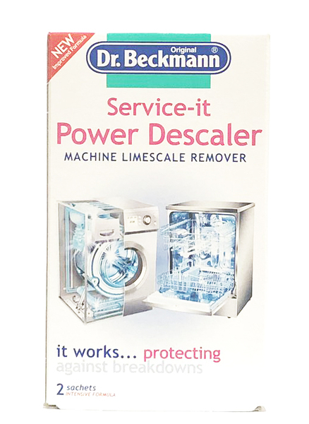 德國 Dr Beckmann 洗衣機 &洗碗機 清潔劑/除垢劑 Limescale remover ( 每份2包 )