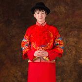 中式結婚新郎大紅繡球喜慶婚慶用品新郎官大紅花「極有家」