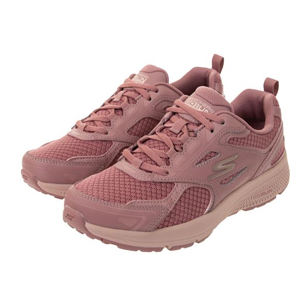 SKECHERS GO RUN CONSISTENT 玫瑰紅 女 透氣 避震 緩衝 慢跑鞋 128075MVE