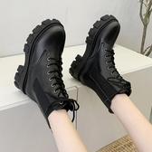 靴子超火網紅八孔馬丁靴女英倫風年流行鞋子春秋單靴瘦瘦短靴