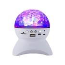 水晶魔球舞台燈音響L-740 支援藍芽/TF卡/AUX/USB 藍牙音箱KTV投射七彩氣氛燈 酷炫感受藍芽喇叭