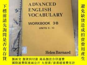 二手書博民逛書店Advanced罕見English Vocabulary Wor