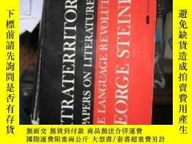 二手書博民逛書店Extraterritorial:罕見Papers On Literature And The Language