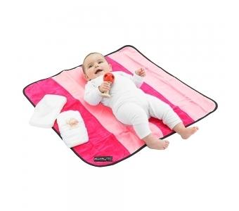 紐西蘭 Mum 2 Mum 時尚防水換尿布墊-粉紅/桃紅 隔尿墊/生理墊