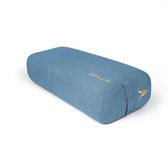 namaste|瑜珈輔具|雙提把瑜珈抱枕 - 灰藍色Blue