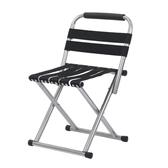 折疊椅 戶外馬扎折疊便攜成人釣魚凳子家用椅子帶靠背軍工火車小板凳加厚【快速出貨】