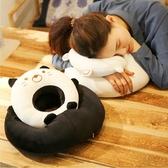 鏤空午睡枕學生趴睡枕午休小枕頭抱枕辦公室桌子趴著睡覺神器 范思蓮恩