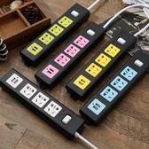(中秋大放價)智能USB插座多功能插板帶線帶開關電源轉換器家用接線板拖線板