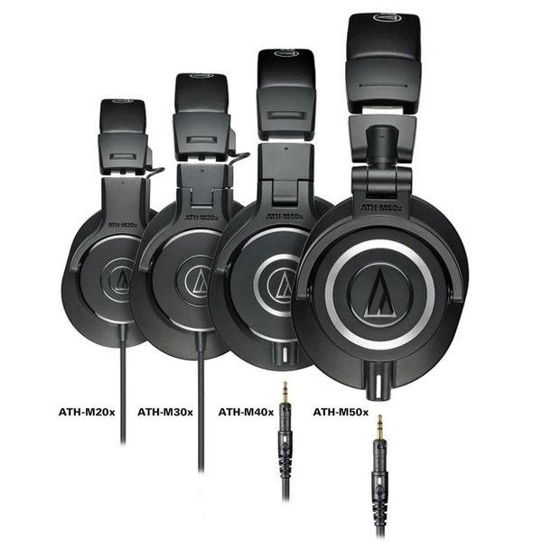 預購【曜德視聽】鐵三角 ATH-M40x 專業監聽型 耳罩式耳機 真實原音呈現/免運/送皮質收納袋