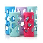 優道保溫杯硅膠套玻璃水杯保護套時尚安全防燙隔熱防滑耐摔套子袋第七公社