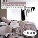 天絲/專櫃級100%.特大床包兩用被套組.一粒落塵/伊柔寢飾