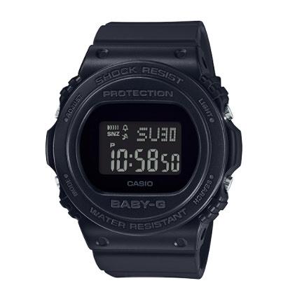 Baby-G 經典暢銷 復古與時尚風格 運動計時女錶 防水手錶 BGD-570-1 CASIO卡西歐