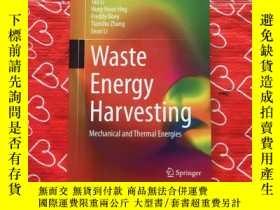 二手書博民逛書店Waste罕見Energy Harvesting Mechani