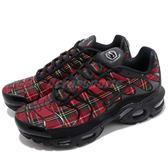 【六折特賣】Nike 復古慢跑鞋 Wmns Air Max Plus TN SE Tartan 黑 紅 格紋 運動鞋 女鞋【PUMP306】 AV9955-001