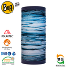 【BUFF 西班牙 雙面Polar 保暖頭巾 Plus 純淨海洋】120945/圍脖/帽子/口罩/圍巾/快乾透氣