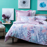 HOLA 蘭池純棉床包兩用被組 雙人