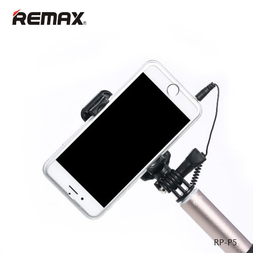 REMAX 原廠 凹槽防旋轉 手機線控自拍桿 手機夾 手機架 自拍棒 自拍器 自拍腳架 手機腳架 Z3 iPhone 6