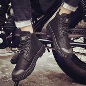 男士英倫馬丁鞋男靴子韓版潮流短靴中幫百搭男鞋子 黛尼時尚精品