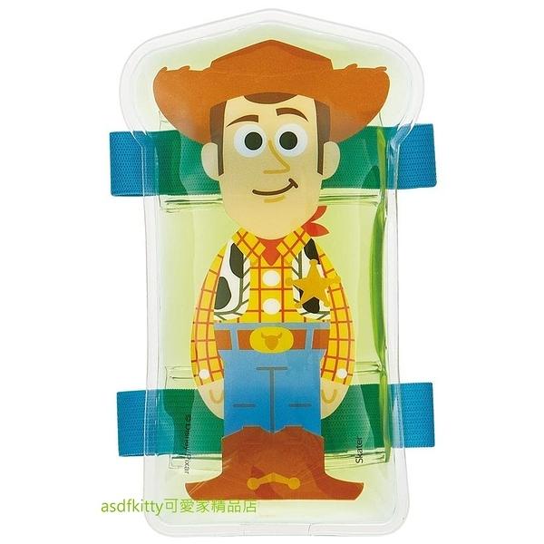 asdfkitty可愛家☆玩具總動員胡迪有綁帶保冷劑/保冰劑-保鮮食物或牙痛-發燒降溫-冰敷