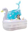 諾澳嬰兒童充氣游泳池家庭可愛型海洋球池大號成人戲水池加厚家用 璐璐生活館