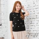 【UFUFU GIRL】波紋蝴蝶結造型更顯甜美,氣質美好的針織衫款!